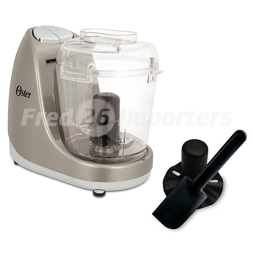Oster 3 Cup Mini Silver Food Chopper with Accessories