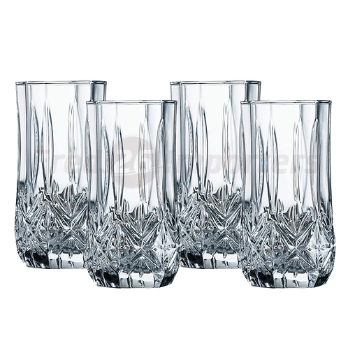 Luminarc Victoria 4-Piece Cooler Glass Set