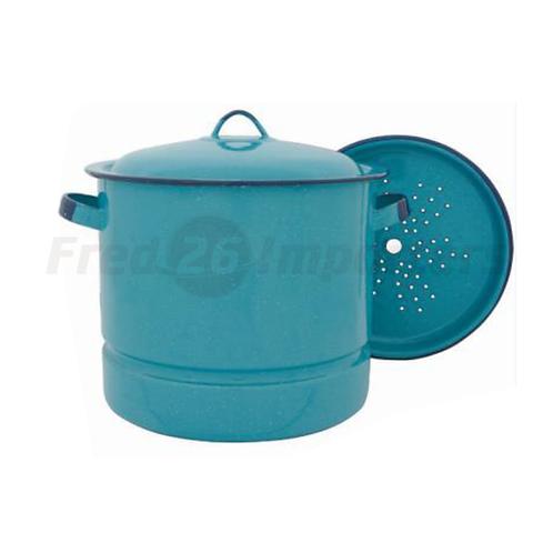 15Qt Steamer Pot w/ Lid & Trivet