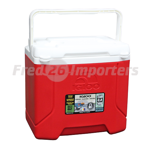 Igloo 16Qt Profile Cooler, Red