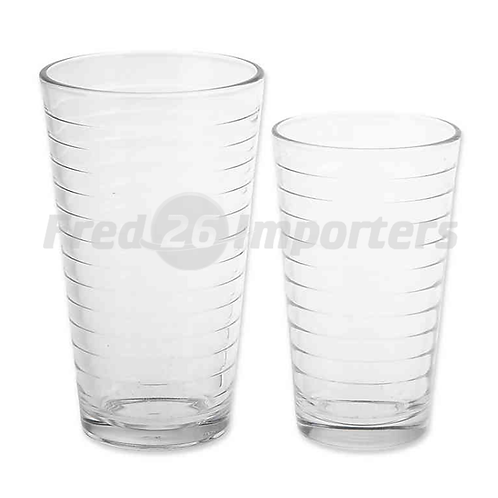 SALT Rings 16-Piece Glassware Set