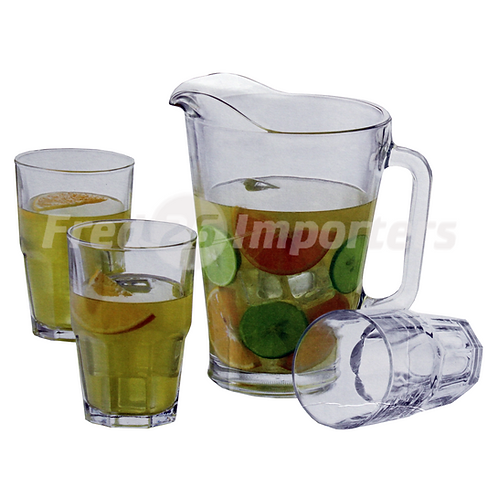 Libbey 7Pc Familiar Glass & Pitcher Set