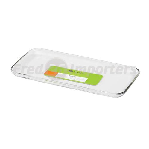 Libbey Aviva Rectangular Glass Platter