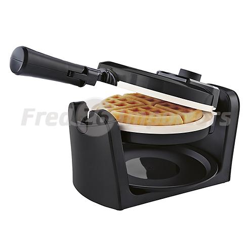 Oster Duraceramic Flip Charcoal Waffle Maker
