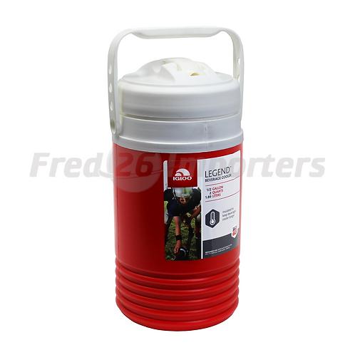 Igloo 1/2 Gallon Legend Beverage Cooler, Red