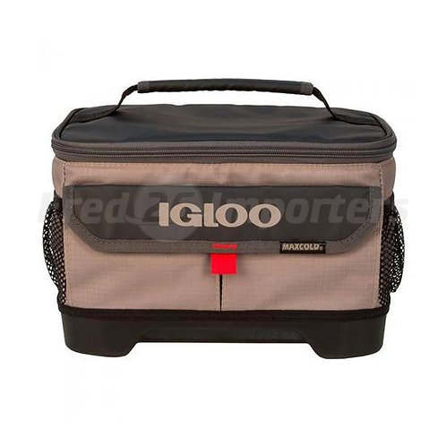 Igloo Lunch 2 Go Outdoorsman Sandstone/Red 12-Can Cooler