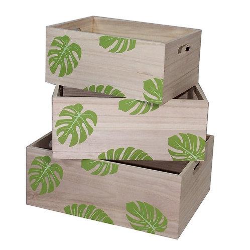 Caja de madera basica