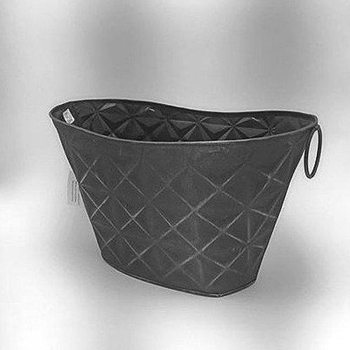 Base de metal gris
