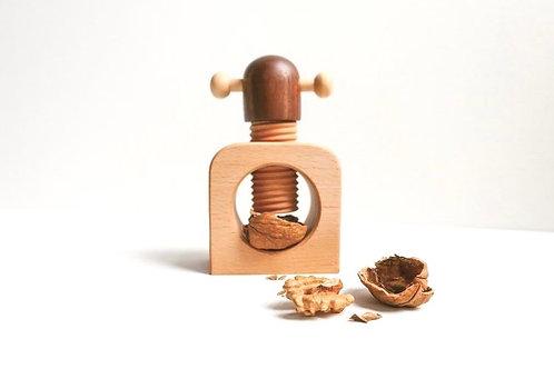 木製核桃開殼器