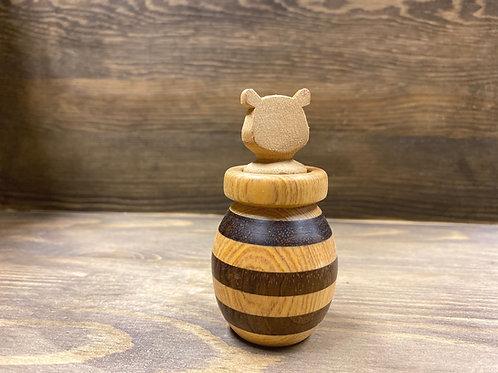 小熊蜂蜜罐精油擴香擺設