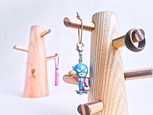 木製飾物樹飾物架