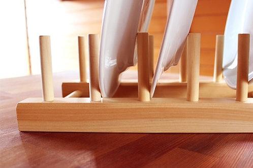 木製餐盤架