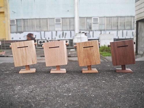 歪版郵筒造型木製錢箱錢罌