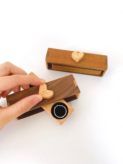 ______❤️______ 榫接旋轉戒指盒