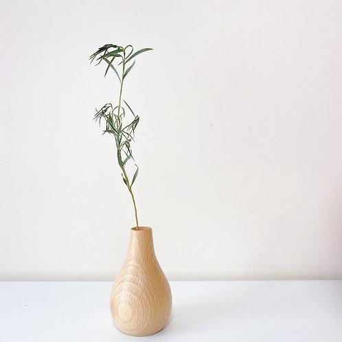 簡約木製花樽