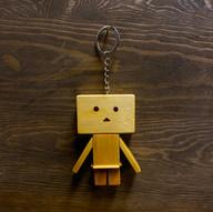 紙盒人匙扣