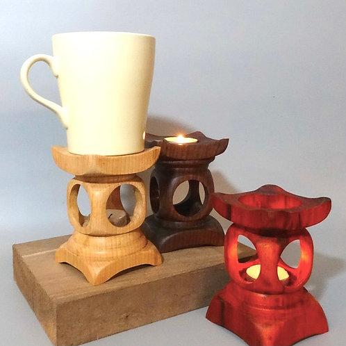 木製兩用燭台