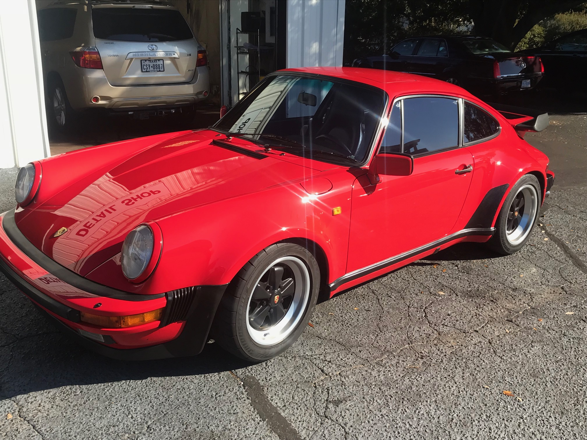 1985 Porsche 930 Turbo Euro Spec