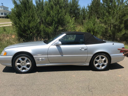 2002 Mercedes SL600 Sliver Arrows
