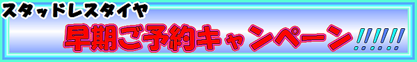 ミスタータイヤマン環七加平店の早期予約スタッドレスキャンペーン