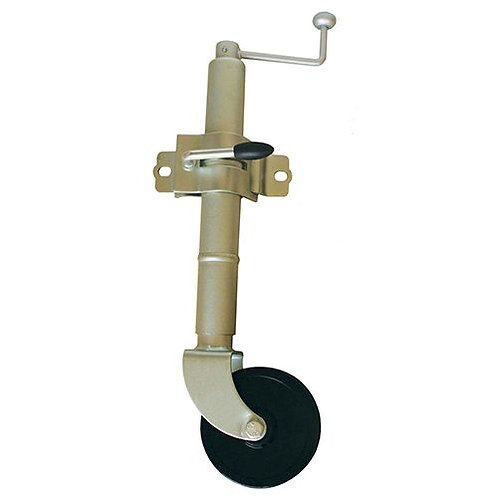 "JOCKEY WHEEL - 150MM (6"") HARD WHEEL WITH CLAMP"