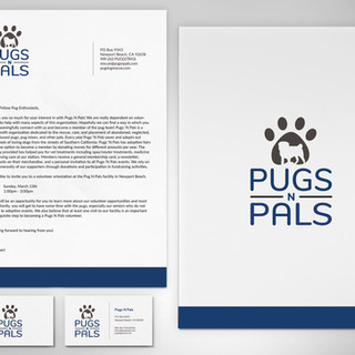 Pugs N Pals Stationary