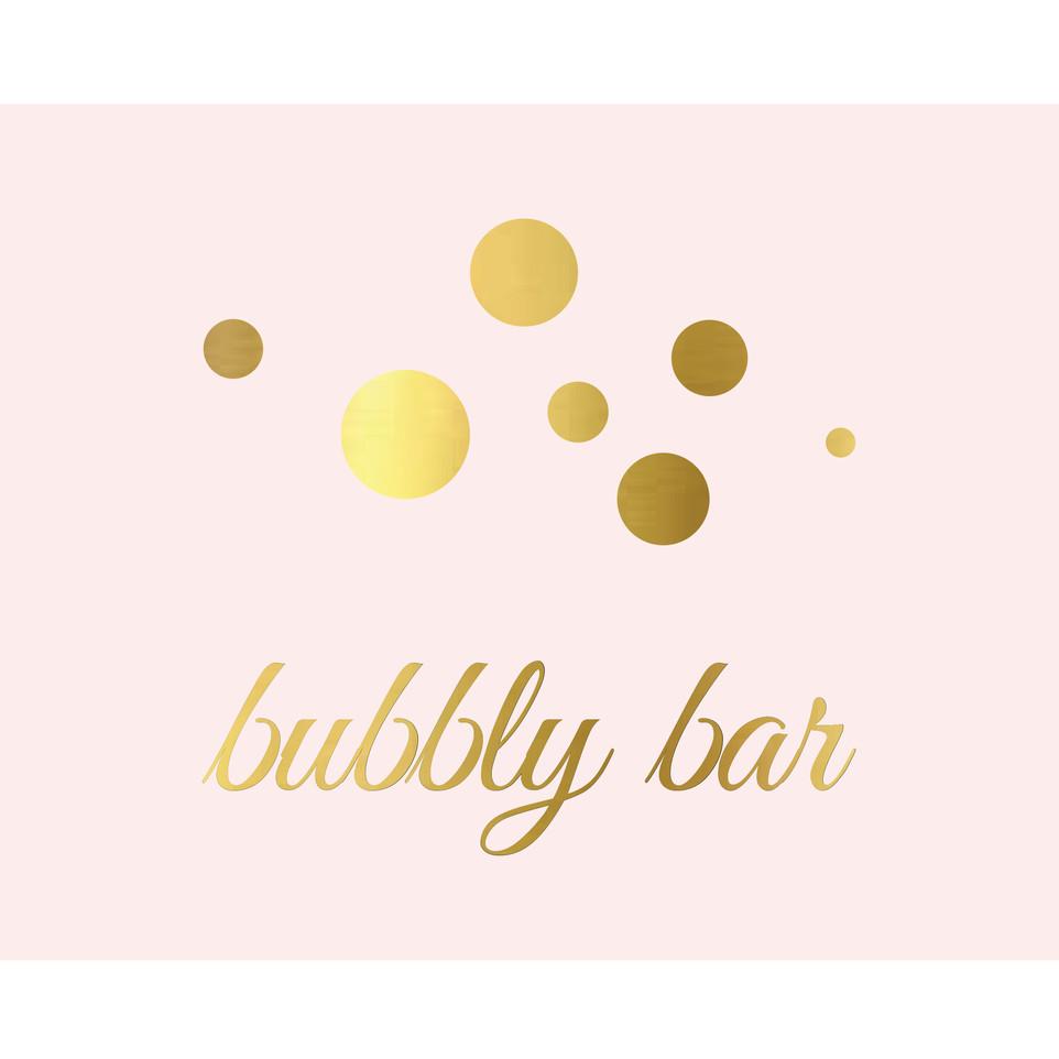 Buena Vista Bubbly Bar Signage