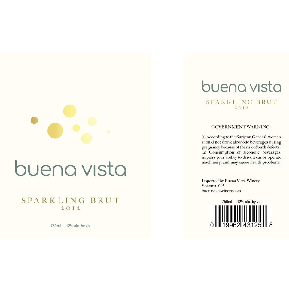 Buena Vista Sparkling Brut Label