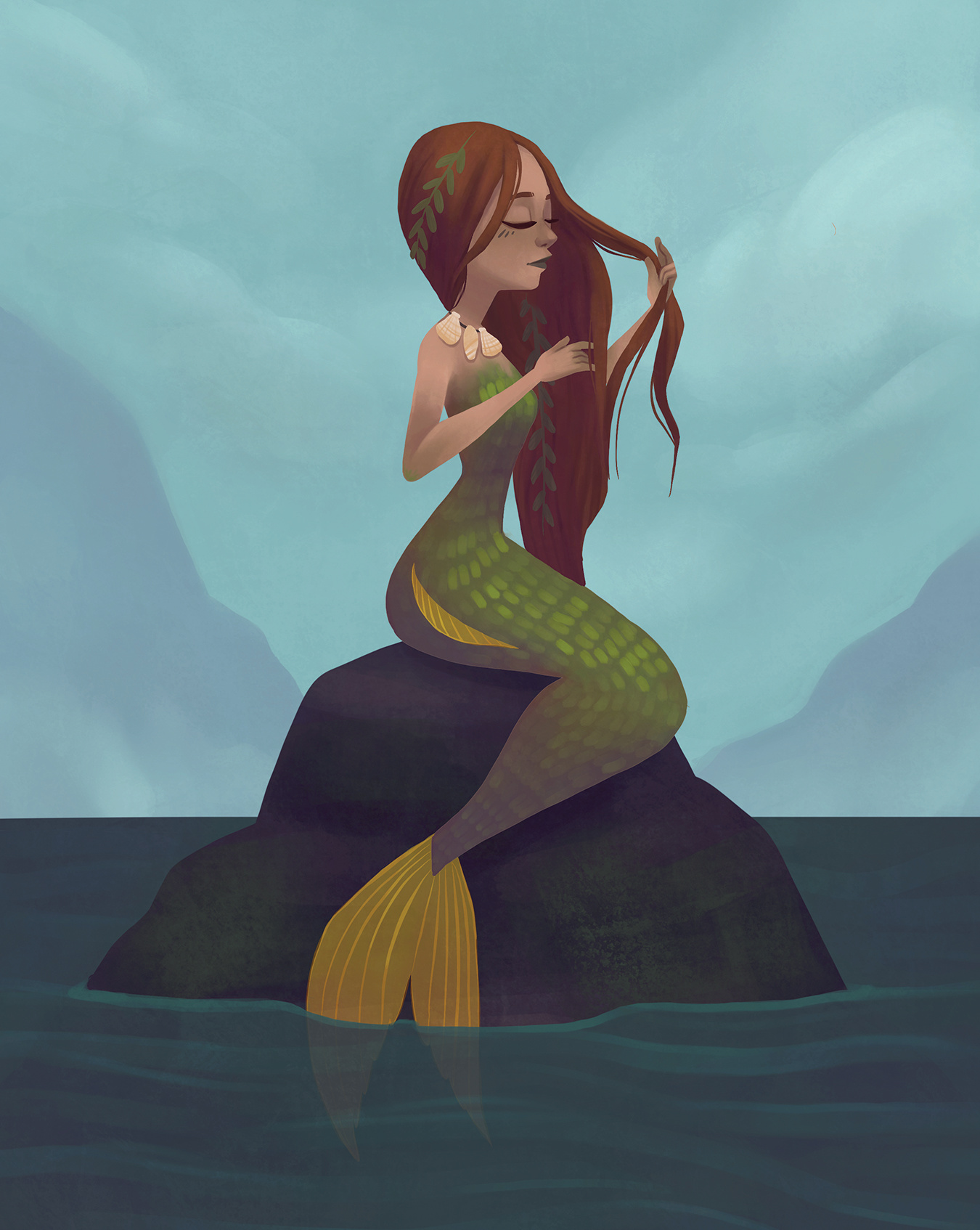 Rock Mermaid