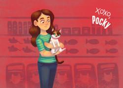 Pocky Valentine's Day Campaign