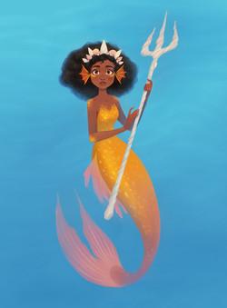 Trident Mermaid