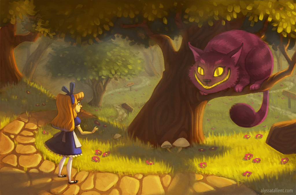 Meeting the Cheshire Cat