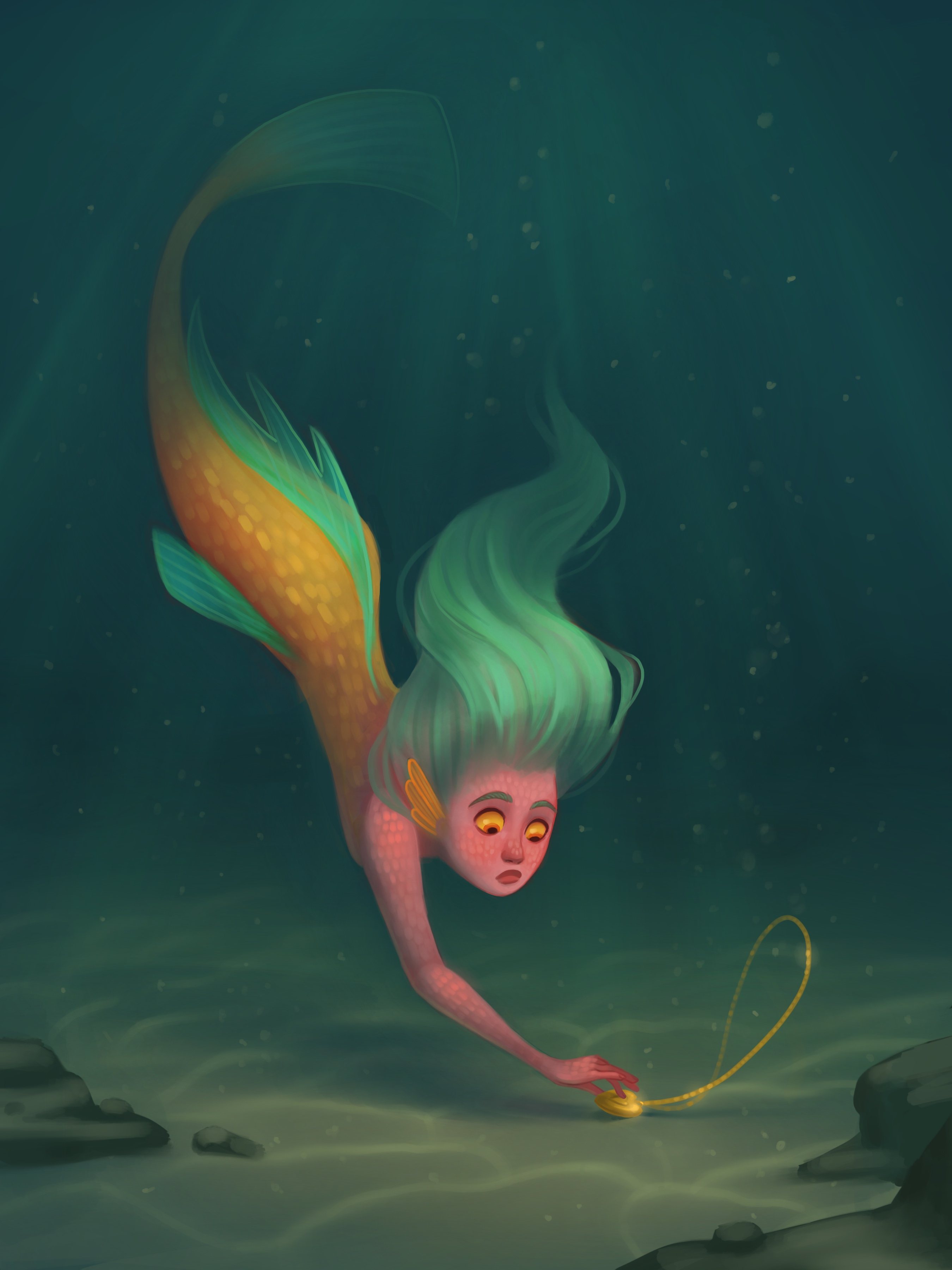 Sherbet Mermaid