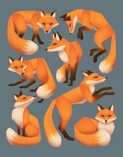 Seven Foxes