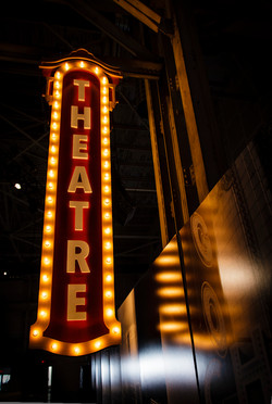 Theatre sign at Cinespace