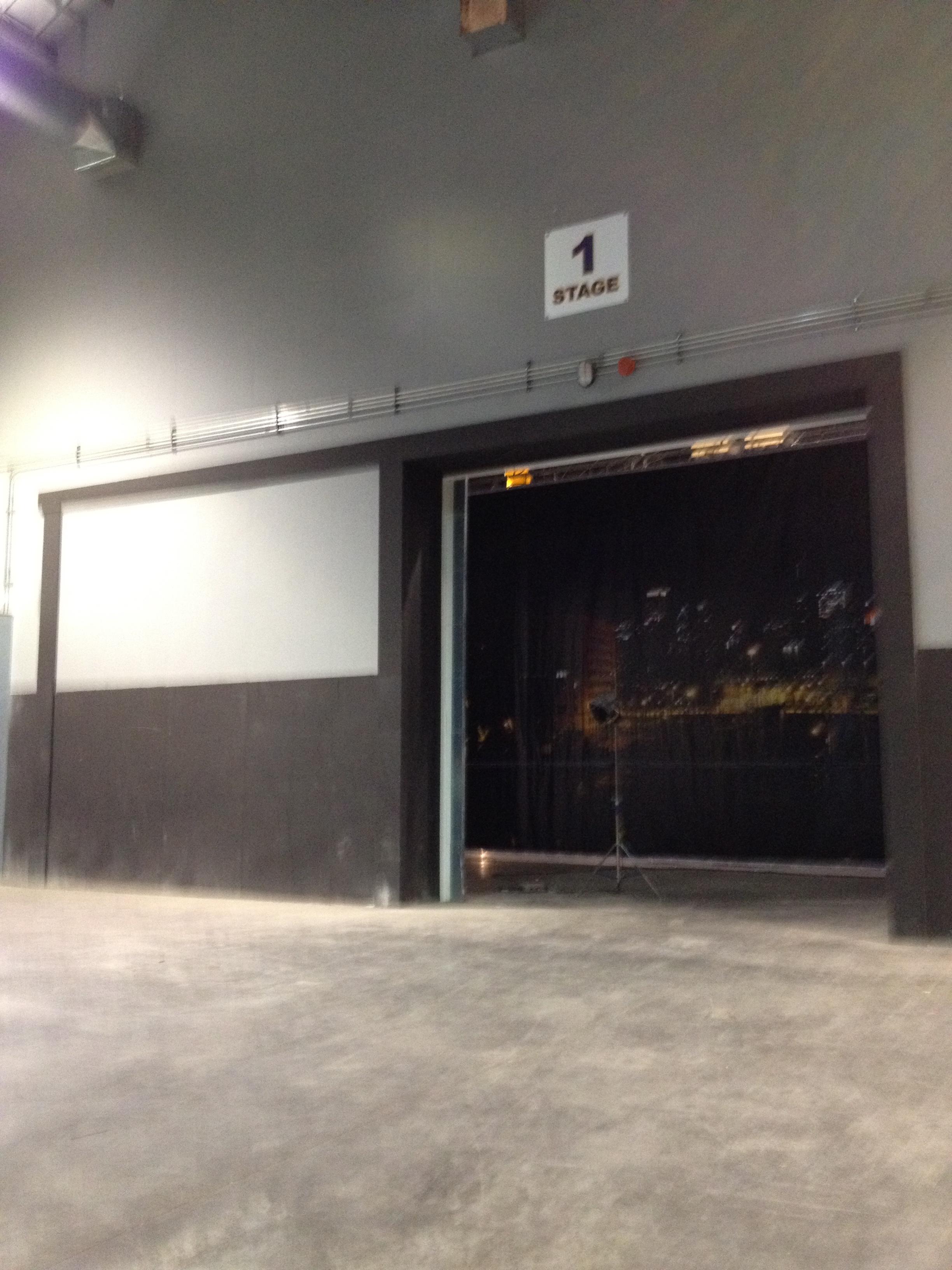 Cinespace garage area