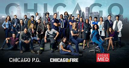 Chicago PD, Chicago Fire, Chicago MED filmed at Cinespace