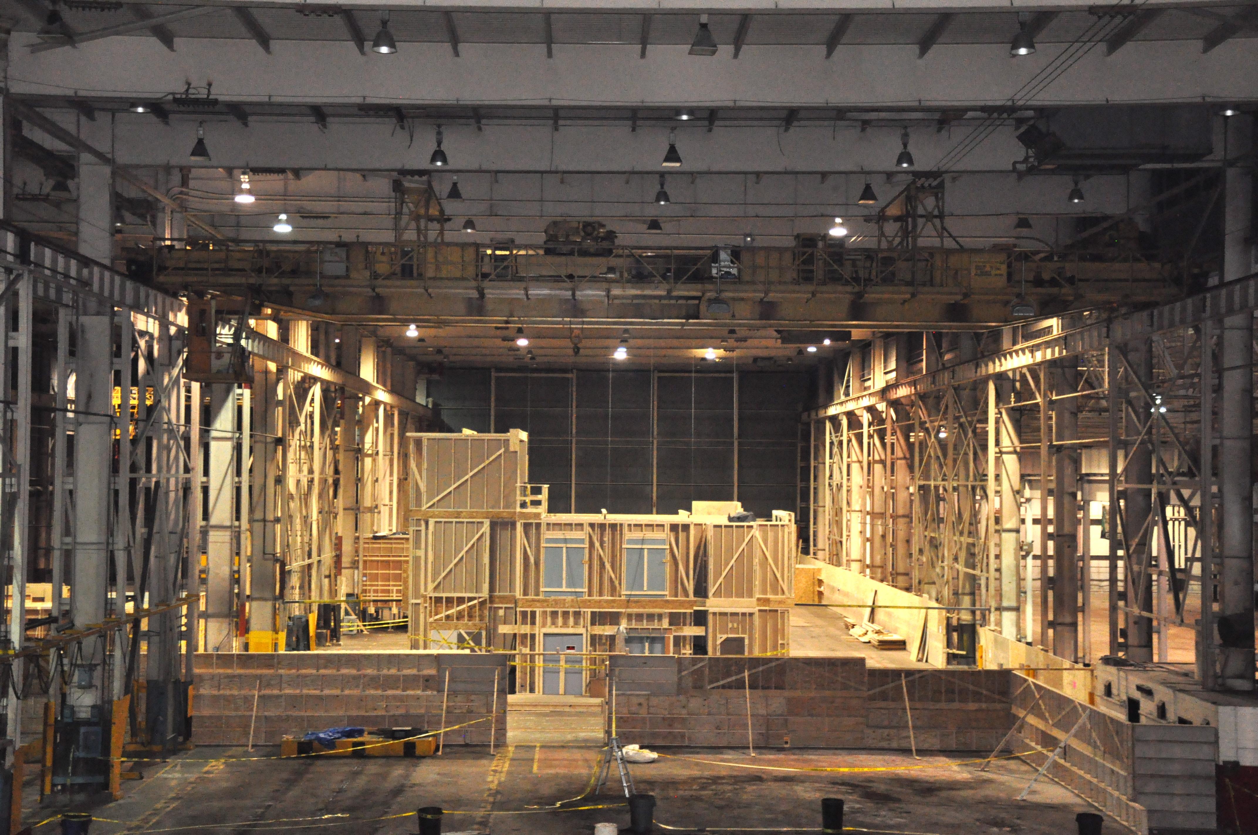 Cinespace film production area