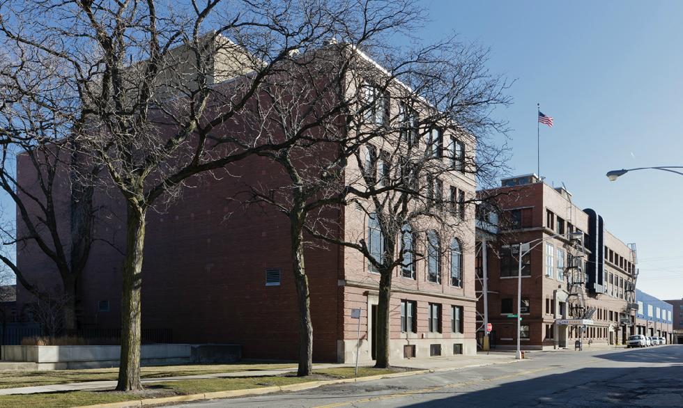 Cinespace Chicago Film Studios exterior