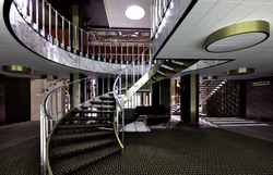Cinespace spiral staircase