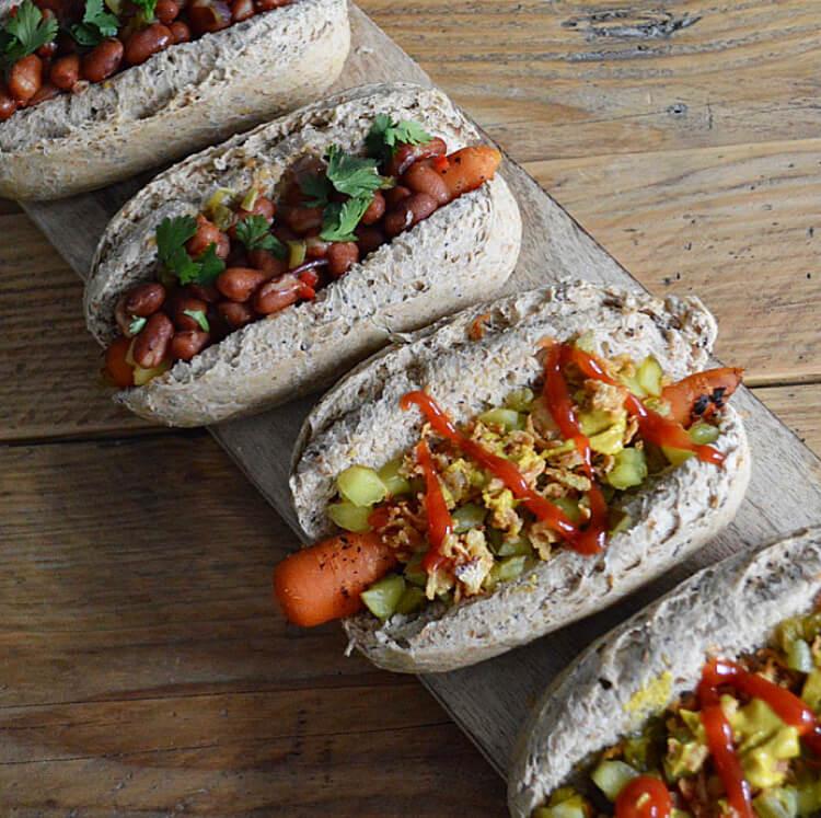 Hotdog wortel
