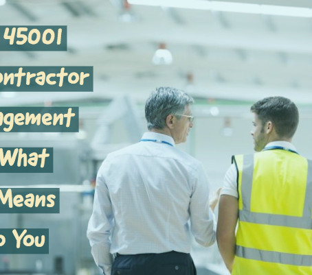 Clause 8.1.4.2: Contractors