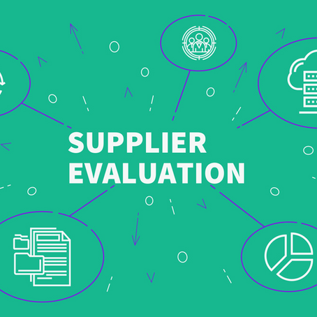 Supplier's Evaluation – The ISO 9001:2015 Standard requirements