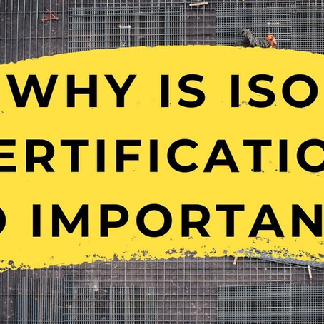 The Importance of ISO 9001 Certification