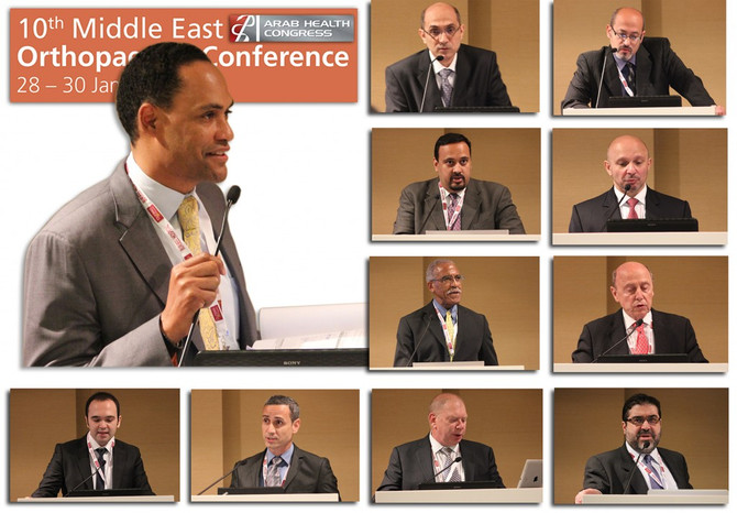 January 2014-10th Middle East Orthopaedic Conference-Foot and Ankle