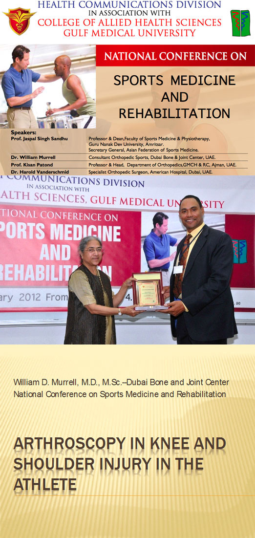 National Conference on Sports Medicine and Rehabilitation
