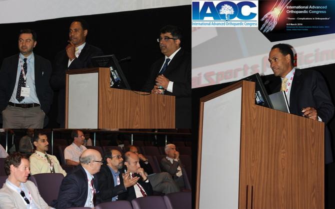 March 2014-International Advanced Orthopaedic Congress – Complications in Orthopaedics  Internationa