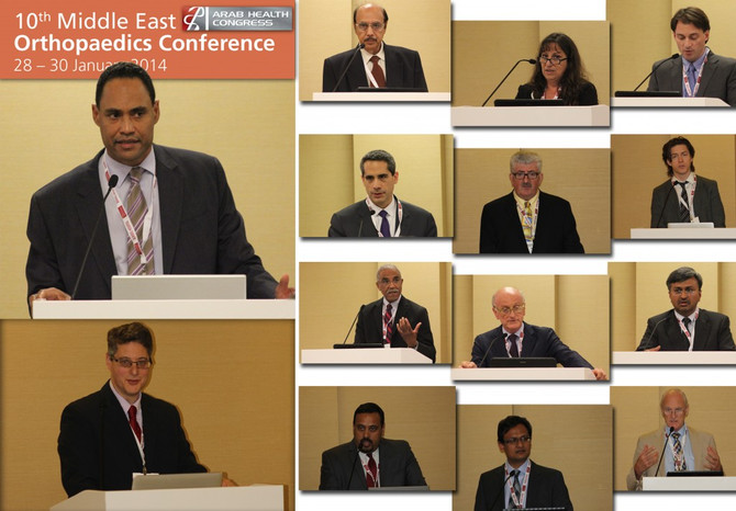 January 2014-10th Middle East Orthopaedic Conference – Focus on Shoulder and Upper Extremities