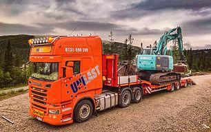 Trailer, Scania, Lastbil, Maskintrailer, Jumbotrailer, Maskintransport, Transporter, Logistik