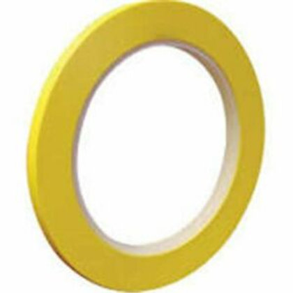 709-0004 Fine  Line  Tape 1/4  Yellow 6mm